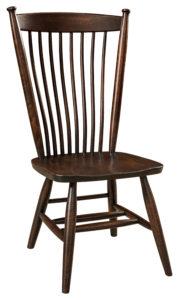"F & N Easton Shaker Side Chair: 19""w x 16.5""d x 38""h"
