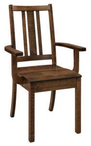 "F & N Eco Arm Chair: 21""w x 17""d x 37""h"