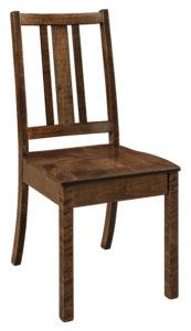 "F & N Eco Side Chair: 21""w x 17""d x 37""h"