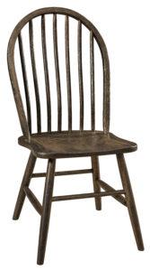 """F & N Econo Side Chair: 17.25""""w x 16""""d x 37""""h"""