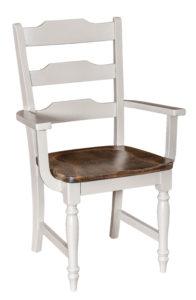 "F & N Fargo Arm Chair:25.5""w x 18""d x 39""h"
