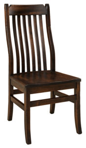 """F & N Franklin Side Chair: 18""""w x 19""""d x 41""""h"""