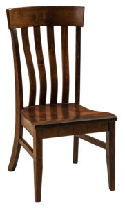F & N - Galena Side Chair - Dimensions (in inches): 20w x 18d x 41.25h - Other available styles include arm chair, swivel bar stool, stationary bar stool, and desk chair.