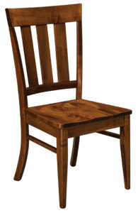 F & N - Glenmont Side Chair - Dimensions (in inches): 18.75w x 17d x 37.5h - Other available styles include arm chair, swivel bar stool, stationary bar stool, and desk chair.
