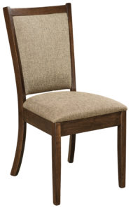 F & N - Kalispel Side Chair - Dimensions (in inches): 18.5w x 16.5d x 37.5h - Other available styles include arm chair, swivel bar stool, stationary bar stool, and desk chair.