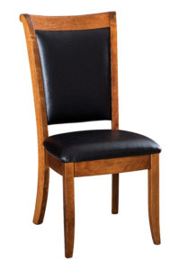 """F & N Kimberly Side Chair: 18.5""""w x 17""""d x 39.5""""h"""