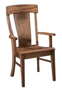 "F & N LaCombe Arm Chair: 25""w x 17""d 41""h"