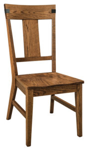 """F & N Lahoma Side Chair: 19""""w x 17.5""""d x 41.5""""h"""