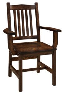 """F & N Logan Arm Chair: 26""""w x 17.5""""d x 38.25""""h"""