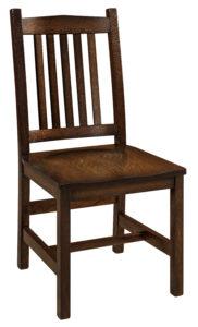 "F & N Logan Side Chair: 18.5""w x 17.5""d x 38.25""h"