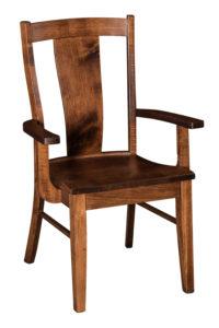 "F & N Maverick Arm Chair: 24.25""w x 17.5""d x 38""h"