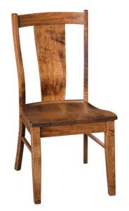 """F & N Maverick Side Chair: 19""""w x 17.5""""d x 38""""h"""