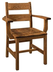 """F & N Memphis Arm Chair: 26""""w x 17.5""""d x 34""""h"""