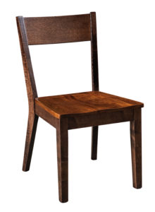 "F & N Monterey Side Chair: 18.5""w x 17.5""d x 34""h"