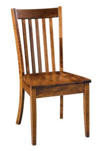 """F & N Newport Side Chair: 18.75""""w x 17.5""""d x 37""""h"""