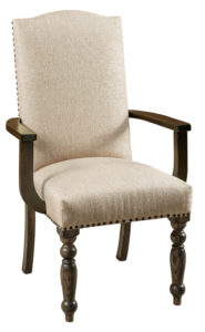 F & N - Olson Arm Chair - Dimensions (in inches): 27w x 18d x 42h - Other styles available include side chair and desk chair.