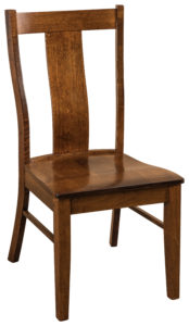 "F & N Ramona Side Chair: 19""w x 17.5""d x 38.5""h"