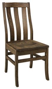 """F & N Salem Side Chair: 17.5""""w x 16.5""""d x 38.5"""" h"""