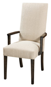 F & N - Sheldon Arm Chair - Dimensions (in inches): 23w x 17d x 42h - Other available styles include side chair, swivel bar stool, stationary bar stool, and desk chair.