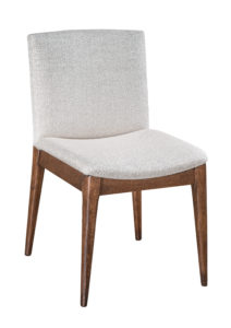 """F & N Tampa Side Chair: 17.5""""w x 16.5""""d x 32""""h"""