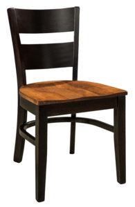 "F & N Wallis Side Chair: 18""w x 17.5""d x 33""h"