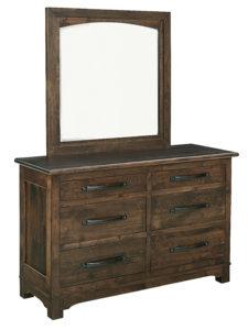 SCHWARTZ-Farmhouse 6 Drawer Dresser with Mirror See store for details