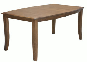 WOODSIDE-Gallery Leg Table - Dimensions (in inches): 42x60, 42x66, 42x72, 48x60, 48x66, or 48x72 with up to 4 leaves - Custom finish options available, please see store for details.