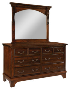 SCHWARTZ-Hamilton Court 8 Drawer Dresser with Mirror See store for details