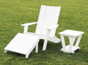 CREEKSIDE - Joya Chair (J20), End Table (J22), and Ottoman (J21) - Size: 22 inch chair.