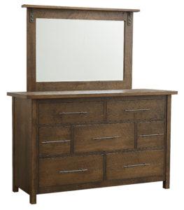 SCHWARTZ-Kensington 7 Drawer Dresser with Mirror See store for details