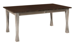 "WEST POINT - Lexington Leg Table - Dimensions (in inches): 42x60, 42x66, 42x72, 48x60, 48x66, and 48x72 with up to four 12"" leaves - Custom finish options available, see store for details."