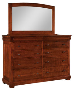 SCHWARTZ-Marshfield 10 Drawer Dresser with Mirror See store for details