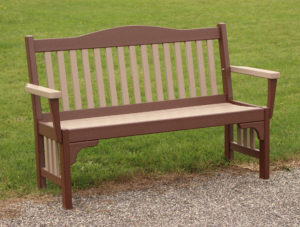 "CREEKSIDE - Mission Park Bench (M220) 60""w x 37""h"