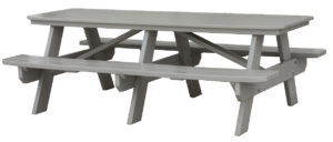 "CREEKSIDE - Picnic Table (PT807) 7' long, 57 1/2 "" w (6',8',10' table options )"