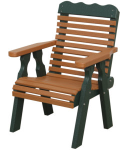 CREEKSIDE - Plainback Chair (PB90) - Size: 22 inches.