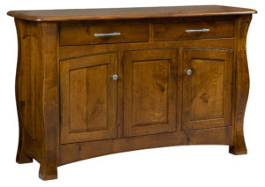 TOWNLINE - Reno 3-Door Sideboard - Dimension (in inches): 20d x 63w x 38h - Custom features and finish options available, please see store for details.