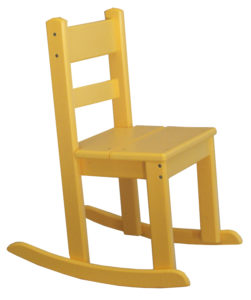 CREEKSIDE - Economy Child's Rocker (CH702) - Size: 24 inch height, 12 inch seat height.
