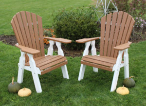 """CREEKSIDE/22""""Classic Dining Chair-32""""wx44"""" Shown in Mahogony/White, also available in Birch and Driftwood Grey."""