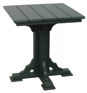 "CREEKSIDE - 28"" Square Bar Table - Size: 28 inches."