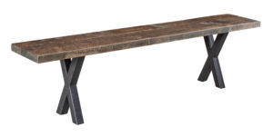"""WESTPOINT/Laredo Bench Available Sizes: 12 1/2"""" x 72, 12 1/2"""" x 84"""", 12 1/2"""" x 108, Solid Top Only"""