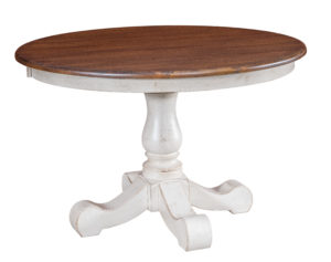 "WESTPOINT /Savannah Single Pedestal, Available Sizes: 42"" x 42"", 48"" x 48"", up to 2 leaves"