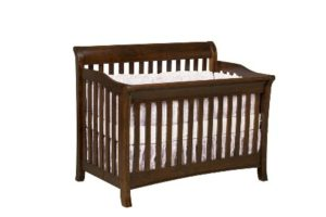 Amish Furniture - Old Town Oak - Berkley crib