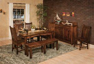 Amish Furniture - Westpoint - Heidi Dining collection set