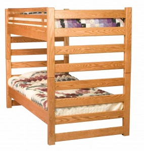 "INDIAN TRAIL - Ladder Bunk Bed Twin/Twin Size: 43"" W x 80"" L x 62"" H Available in Twin/Twin or Twin/Full"